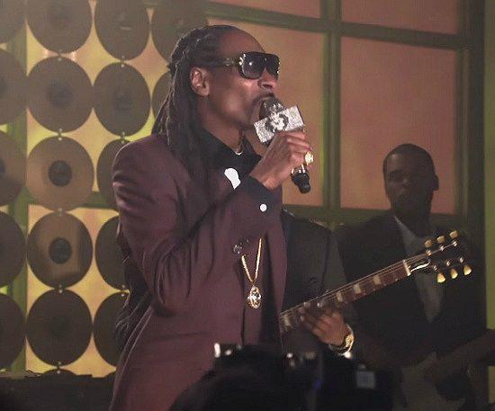 Snoop Dogg Purple Suit Empire Finale