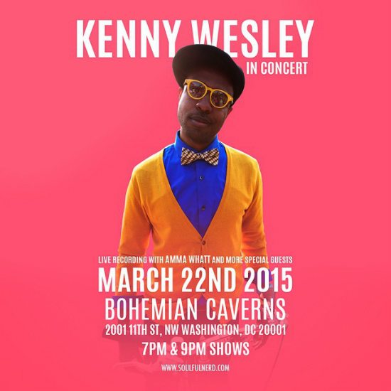 flyer-kenny-wesley-bohemian-caverns-live-recording