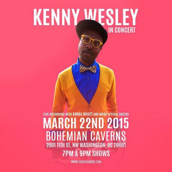 flyer-kenny-wesley-bohemian-caverns-live-recording