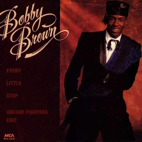 Arcade Fighters Cover Art_Bobby Brown_Every Little Step Remix
