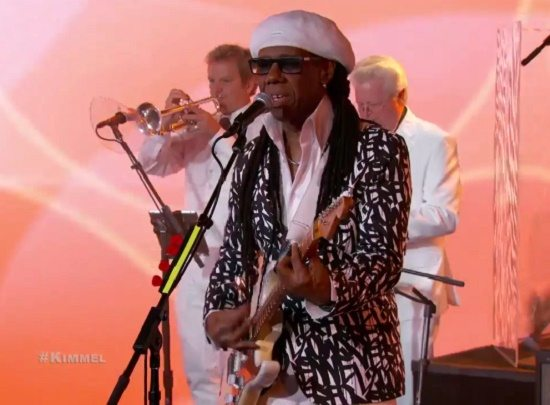 Nile Rodgers Chic Jimmy Kimmel Live