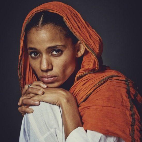 Nneka-Burnt-Orange-Sari-Headcovering