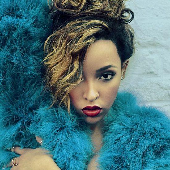 Tinashe Electric Blue Fur