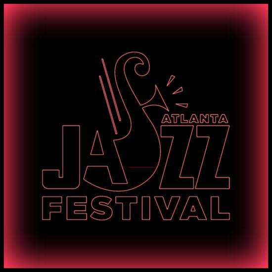Atlanta-Jazz-Festival-Logo-Neon-Red-Vignette