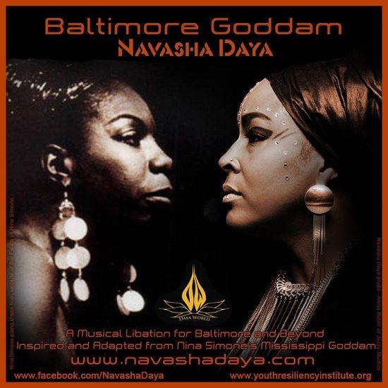 Navasha-Daya-Baltimore-Goddam-Cover