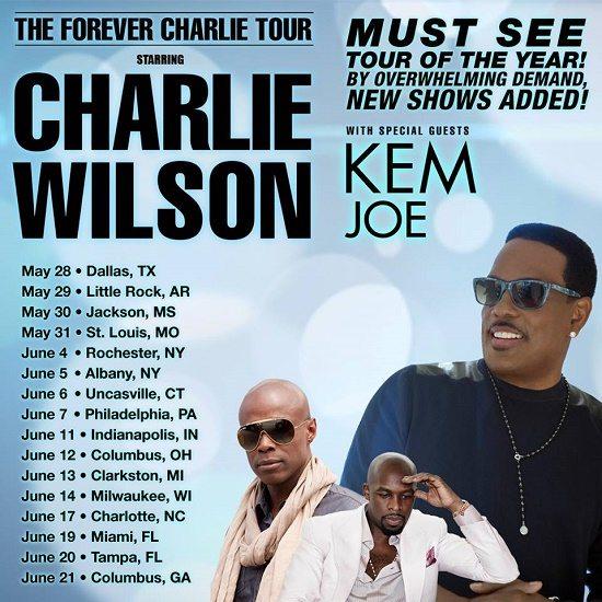 charlie-wilson-kem-joe-forevercharlietour-2ndleg-poster