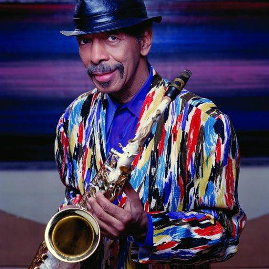 ornette-coleman-colorful-jacket-saxophone