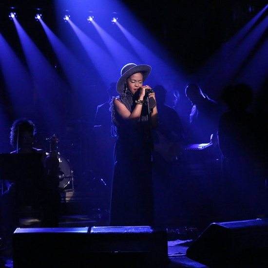 THE TONIGHT SHOW STARRING JIMMY FALLON -- Episode 0302 -- Pictured: Musical guest Lauryn Hill performs on July 30, 2015 -- (Photo by: Douglas Gorenstein/NBC)