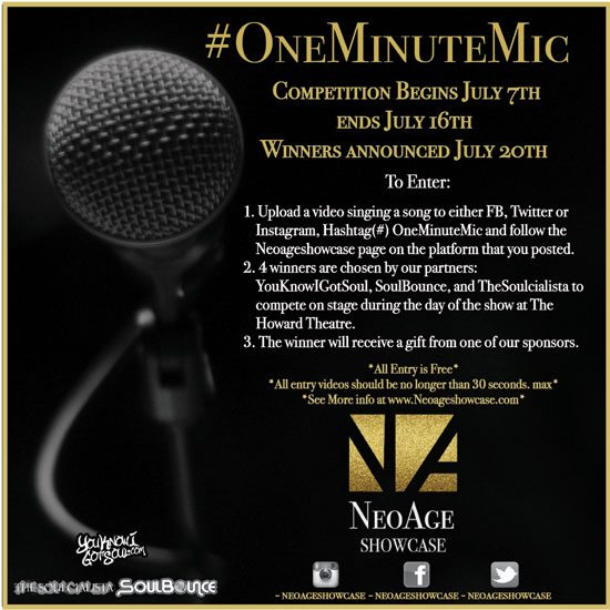 flyer-neo-age-showcase-one-minute-mic