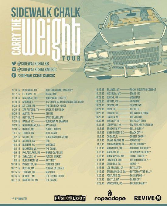 Sidewalk-Chalk-CTW-Tour-Poster