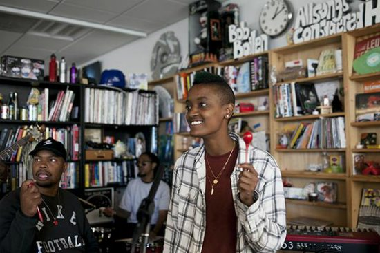 2b115dde9196 The Internet Bring West Coast Vibes To NPR Music s  Tiny Desk ...