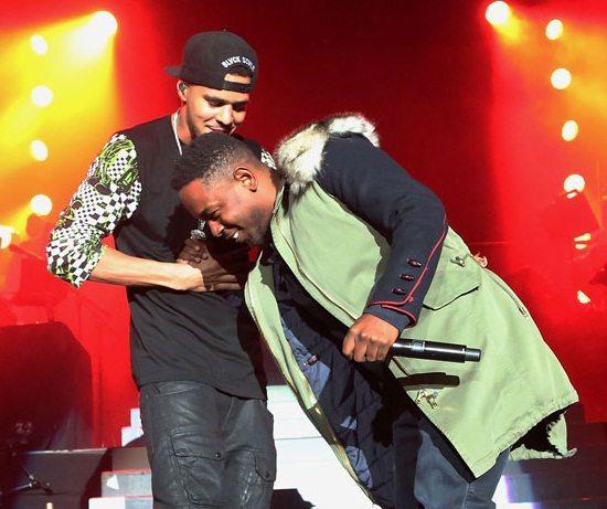 J.-Cole-Kendrick-Lamar-Handshake-GreenCoat