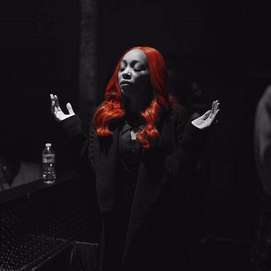 Monica-Backstage-RedWig