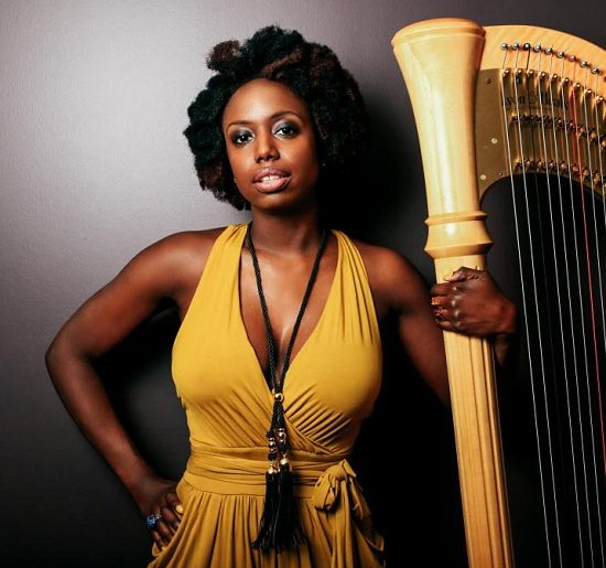 Brandee-Younger-Yellow -Dress-Harp