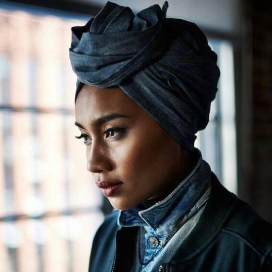 yuna-denim-shirt-denim-turban