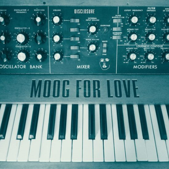 Disclosure-Moog-For-Love-Cover