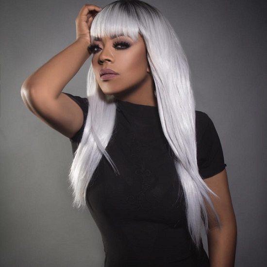 Shanice-Black-Dress-Gray-Hair