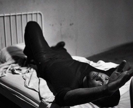 Usher-Bed-Black-Shirt