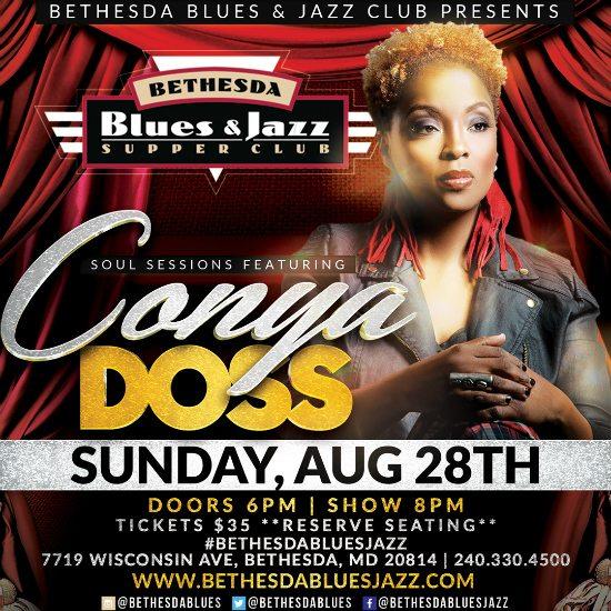 flyer-conya-doss-bethesda-blues-jazz