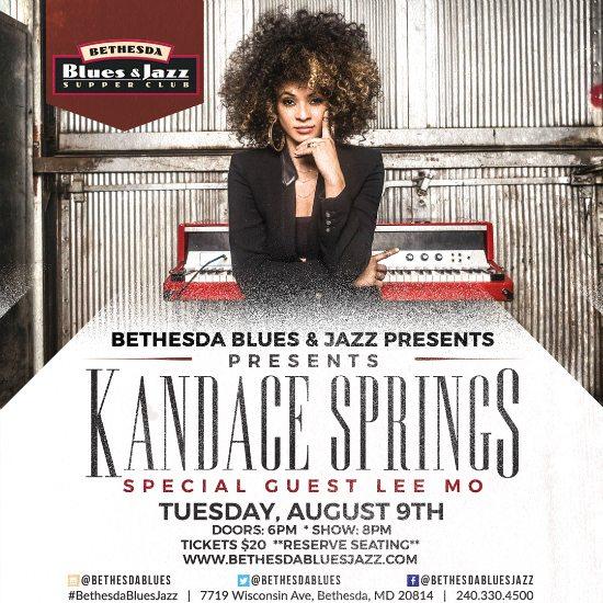 flyer-kandace-springs-bethesda-blues-and-jazz