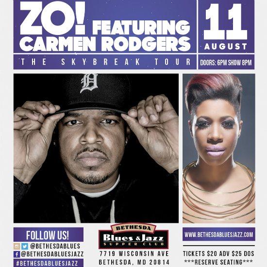 flyer-zo-carmen-rodgers-bethesda-blues-and-jazz