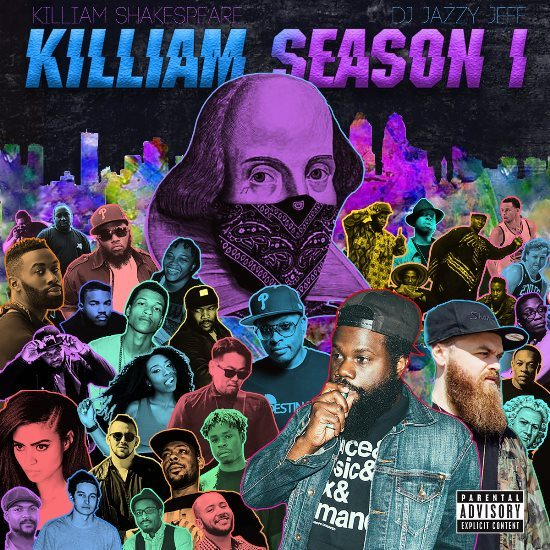 killiam-shakespeare-season-1-mixtape-cover-art