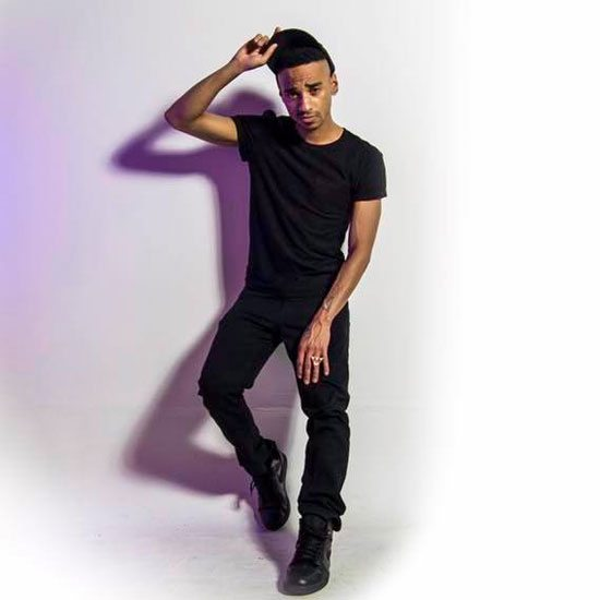 durand-bernarr-black-outfit-purple-lighting