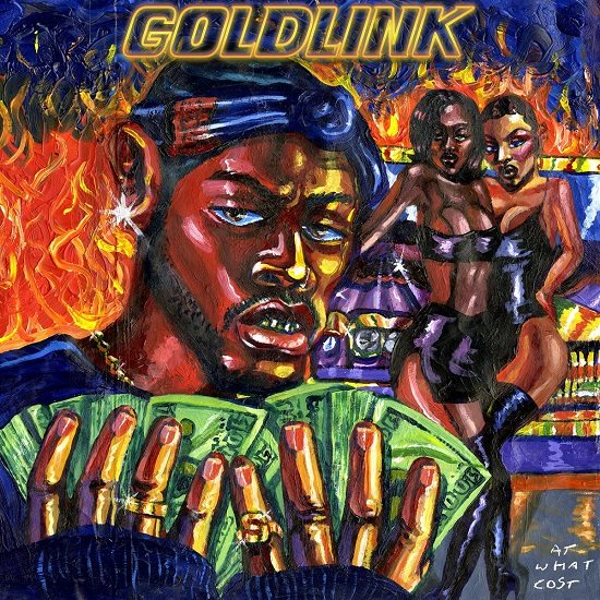 "GoldLink ""At What Cost"" Cover"