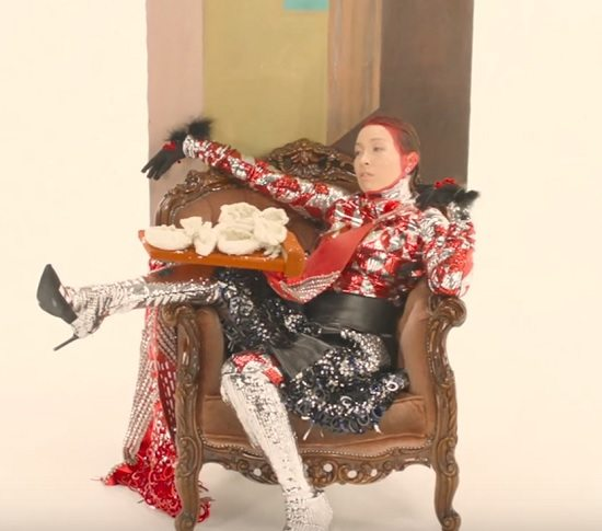 "Little Dragon ""Sweet"" Video Still"