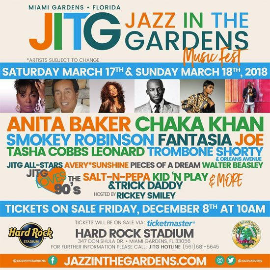 flyer jazz in the gardens 2018 soulbounce