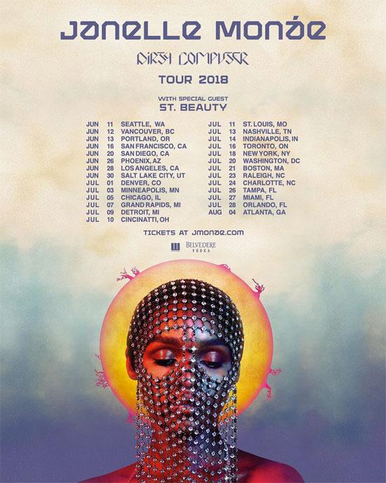 Janelle Monae Tour Dates
