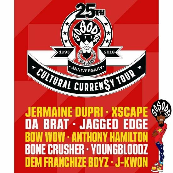0f5a60033c Jermaine Dupri Announces So So Def 25th Anniversary Tour Featuring Xscape,  Jagged Edge, Anthony Hamilton & More
