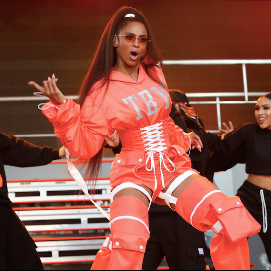 Ciara Performs 'Thinkin' Bout You' & Past Hits On 'Jimmy Kimmel Live