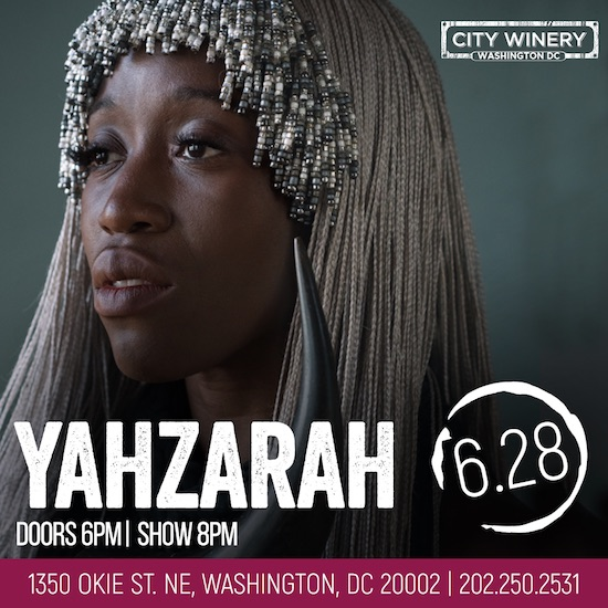 DMV Bouncers: Win Tickets To See YahZarah In Concert!
