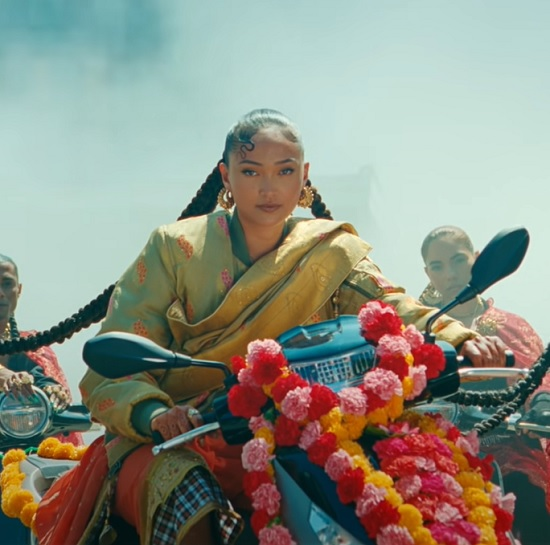Joy Crookes Stylishly Shows Her Culture In 'Feet Don't Fail Me Now'