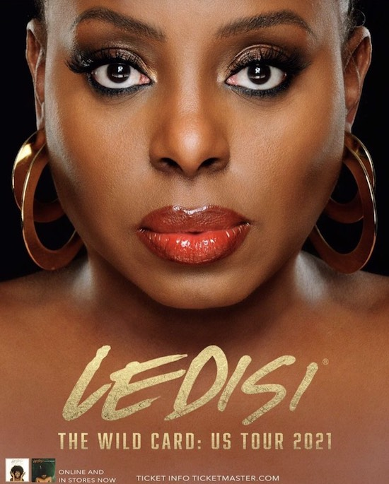 Ledisi Plans Her Return To The Concert Stage With 'The Wild Card: US Tour 2021'