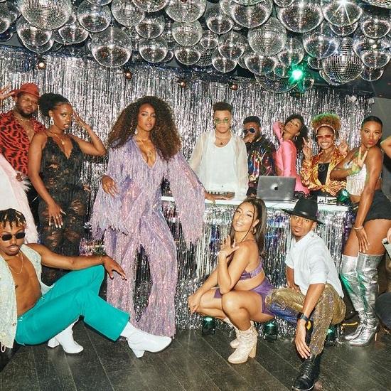 Amorphous & Kelly Rowland 'Finally' Bring Disco Glam To 'Jimmy Kimmel Live!'