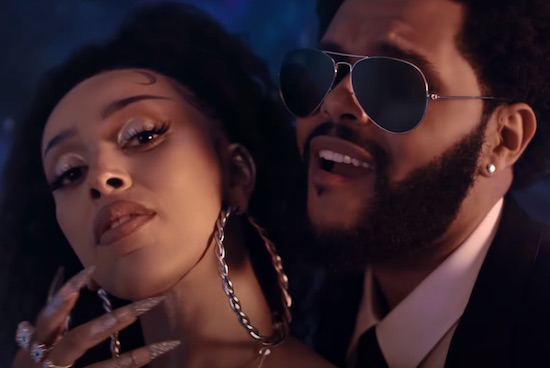 Doja Cat & The Weeknd Are Ready To Risk It All In 'You Right'