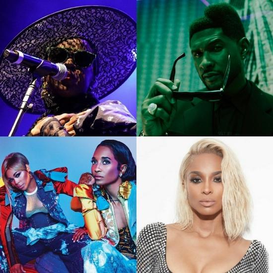 Ms. Lauryn Hill, Usher, TLC & Ciara To Headline 2022's Lovers & Friends Festival