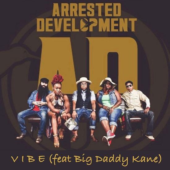 Arrested Development Catches A 'VIBE' With Big Daddy Kane, Cleveland P. Jones & Tasha LaRae