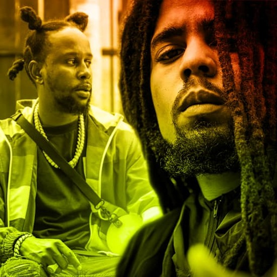Catch A 'Vibe' With Skip Marley & Popcaan