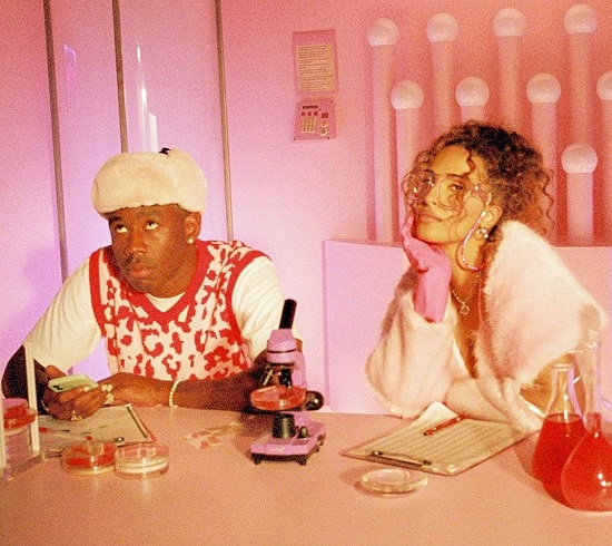 Snoh Aalegra & Tyler, The Creator Light Up Our Screens In 'NEON PEACH'