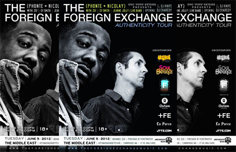 Boston Bouncers Win Tickets To See The Foreign Exchange In Concert
