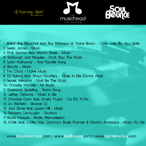 SoulBounce Presents 'The Musichead Collection' By dj harvey dent